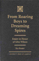 From Roaring Boys to Dreaming Spires