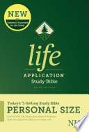 NLT Life Application Study Bible  Third Edition  Personal Size  Softcover