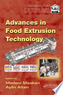 Advances in Food Extrusion Technology Book