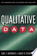 Qualitative Data Book