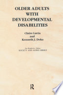 Older Adults with Developmental Disabilities