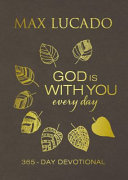 God Is with You Every Day  Large Text Leathersoft