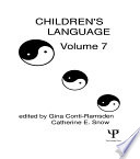 Children s Language Book