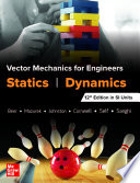 Vector Mechanics For Engineers: Statics and Dynamics, Twelfth Edition in SI Units