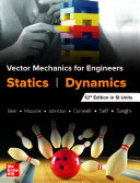 Vector Mechanics For Engineers  Statics and Dynamics  Twelfth Edition in SI Units