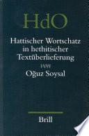Hattischer Wortschatz in hethitischer Textüberlieferung
