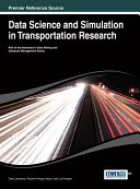 Pdf Data Science and Simulation in Transportation Research