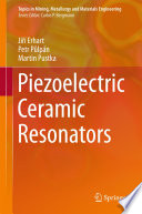 Piezoelectric Ceramic Resonators Book PDF