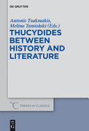 Pdf Thucydides Between History and Literature Telecharger