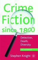 Pdf Crime Fiction Since 1800 Telecharger