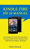 Pdf Kindle Fire HD 10 Manual