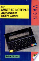 The Amstrad Notepad Advanced User Guide