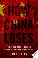 How China Loses