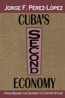 Cuba's Second Economy Pdf/ePub eBook
