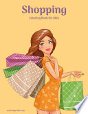 Shopping Coloring Book for Kids 1