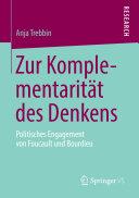 Zur Komplementarität des Denkens: Politisches Engagement von ...