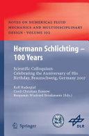 Hermann Schlichting – 100 Years