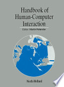 Handbook of Human-Computer Interaction