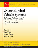 Cyber physical Vehicle Systems Book