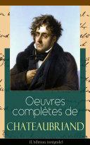 Pdf Oeuvres complètes de Chateaubriand (L'édition intégrale) Telecharger