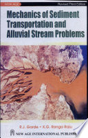 Mechanics Of Sediment Transportation And Alluvial Stream Problems