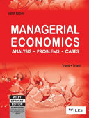 Managerial Economics: Analysis, Problems, Cases, 8Th Ed