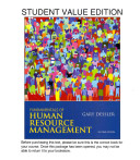 Fundamentals of Human Resource Management  Student Value Edition Plus NEW MyManagementLab with Pearson EText    Access Card Package