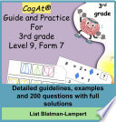 CogAT   Guide and Practice for 3rd grade