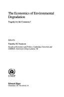 The Economics of Environmental Degradation