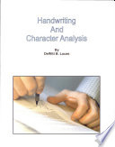 Handwriting Character Analysis Book