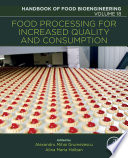 Food Processing for Increased Quality and Consumption Book