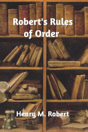 Robert S Rules Of Order PDF