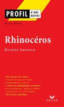 Pdf Profil - Ionesco (Eugène) : Rhinocéros Telecharger