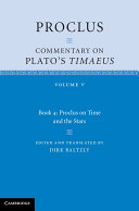 Proclus: Commentary on Plato's Timaeus: Volume 5