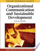 Organizational Communication and Sustainable Development  ICTs for Mobility