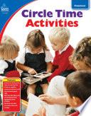 Circle Time Activities  Grade Preschool