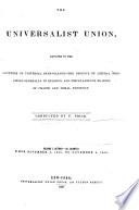 Universalist Union Book