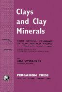 Clays and Clay Minerals Pdf/ePub eBook