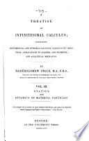 A Treatise on Infinitesimal Calculus Book