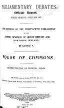 Parliamentary Debates (Hansard) Official Report