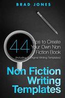 Non Fiction Writing Templates