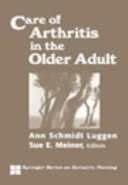 Care of Arthritis in the Older Adult Book