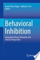 Behavioral Inhibition Book
