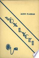 Vox Lycei 1941-1942