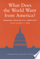 What Does The World Want From America