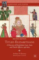 Titled Elizabethans Pdf/ePub eBook