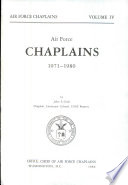 Air Force Chaplains  1971 1980