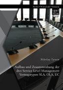 Aufbau und Zusammenhang der drei Service Level Management ...