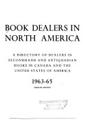 Book Dealers in North America