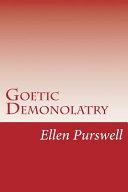 Goetic Demonolatry
